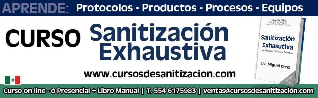 Curso de sanitizacion para empresas publicas y privadas en mexico