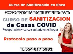 curso de sanitizacion de casas
