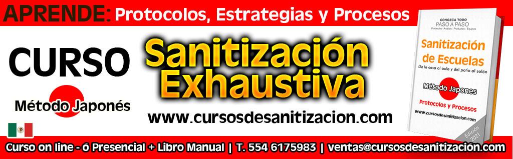curso de sanitizacion de escuelas en mexico - protocolos - estrategias y procesos