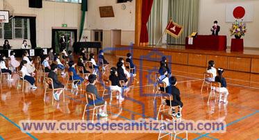 curso de sanitizacion de escuelas para regresp seguro en mexico