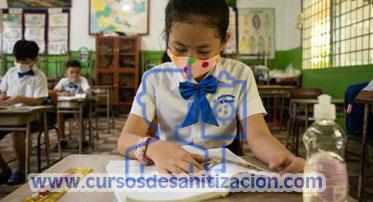 curso de sanitizacion de escuelas por pandemia