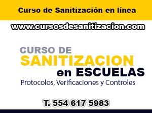 cursos de sanitizacion de escuelas en mexico
